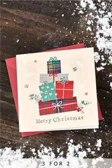 10 Pack Christmas Present Cards