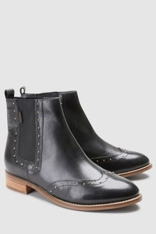 Signature Studded Chelsea Boot