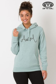 Animal Sketched Graphic Oh Hoody