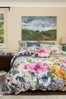 MM Linen Elaria Duvet Cover and Pillowcase Set