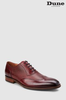 Dune Burgundy Payne Brogue Oxford Shoe