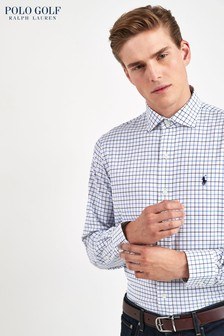 Ralph Lauren Polo Golf White Check Shirt