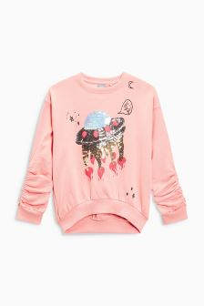 Sequin Space Sweater (3-16yrs)