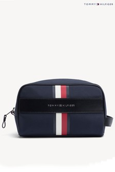 Tommy Hilfiger Elevated Stripe Wash Bag
