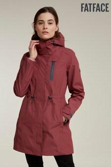 FatFace Rust Snowdon Long Jacket