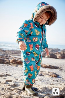 Animal All-Over Print Snowsuit (3mths-6yrs)