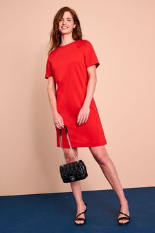 Ponte Shift Dress