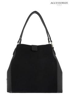 Accessorize Black Harper Shoulder Bag