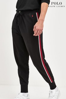 Polo Ralph Lauren Black Taped Joggers
