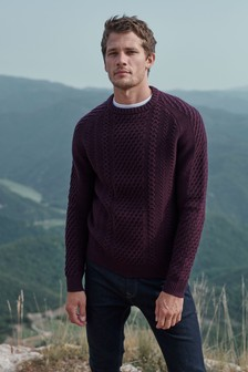 Luxury Cable Knitted Jumper