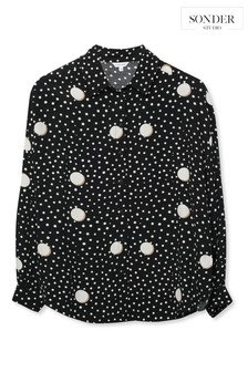 Sonder Black Spot Volume Shirt