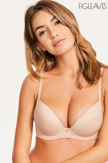Figleaves Smoothing Non-Wired Plunge Bra