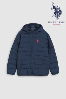 U.S. Polo Assn. Lightweight Hooded Jacket