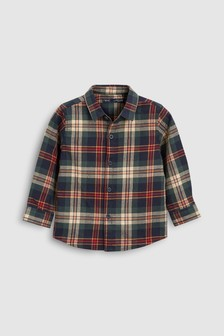 Long Sleeve Tartan Shirt (3mths-6yrs)