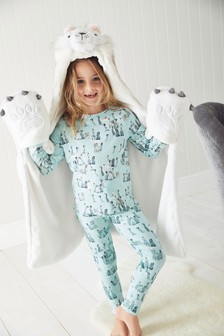 Lion Blanket With Sleeves (3-16yrs)