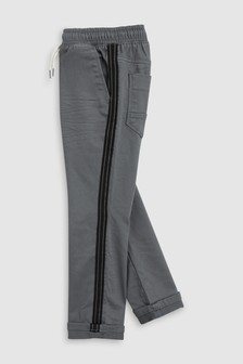 Pull-On Skinny Side Stripe Trousers (3-16yrs)