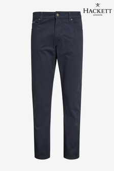 Hackett Blue Trinity 5 Pocket Trouser
