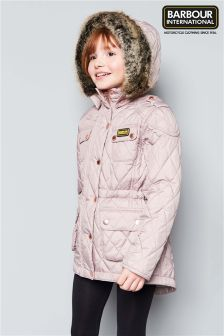 Barbour® International Enduro Lilac Quilted Jacket