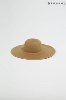 Warehouse Wide Brim Straw Hat