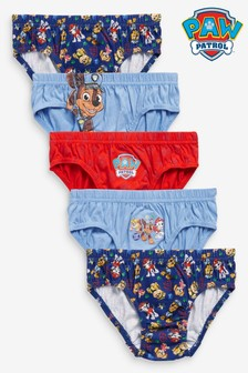 5 Pack PAW Patrol Briefs (1.5-8yrs)