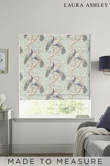 Laura Ashley Duck Egg Belvedere Made to Measure Roman Blind