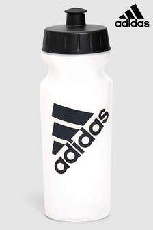 adidas Transparente Wasserflasche