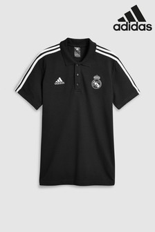 adidas Real Madrid 3-Stripe Polo Shirt