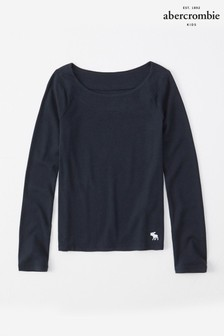 Abercrombie & Fitch Navy Top