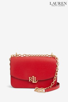 Ralph Lauren Red Madison Cross Body Bag