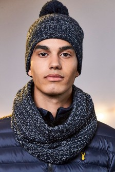 Twist Hat And Snood Set