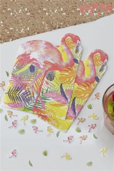 Ginger Ray Flamingo Paper Napkins