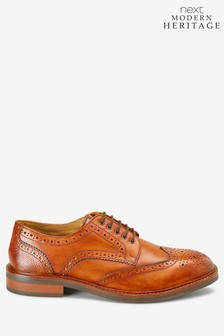 Modern Heritage Leather Brogue Shoes