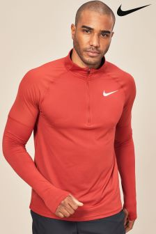 Nike Element Red Top