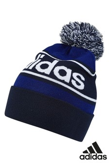 adidas Navy Linear Woolie Hat