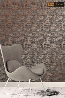 Loft Brick Wallpaper by Fine Décor