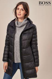 BOSS Longline Padded Jacket