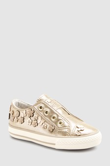 Embellished Laceless Trainers (Younger)