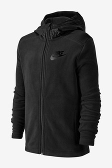 Nike Winterized Black Full Zip Hoody