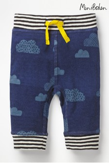 Boden Navy Fun Reversible Trouser