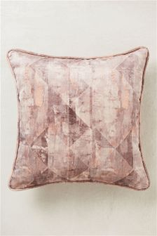 Distress Diamond Cushion