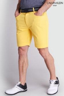 Calvin Klein Golf Yellow Genius 4-Way Stretch Shorts