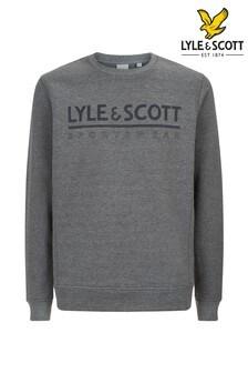 Lyle & Scott Grey Logo Mid Layer Sweat