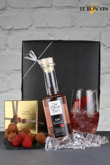 Le Bon Vin Tipsy Raspberry Gin And Champagne Truffles Gift Box