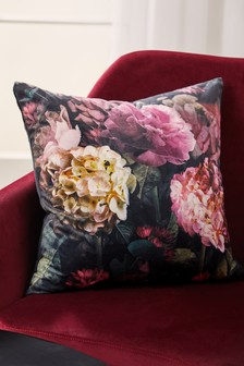 Aria Floral Print Cushion