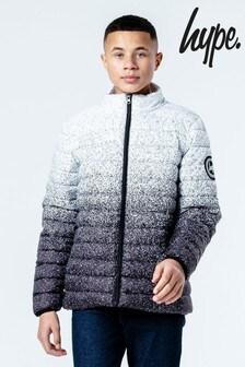 Hype. Speckle Fade Lightweight Puffer Jacket