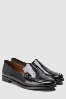 Signature Comfort Leather Slip-On Loafers