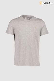 T-shirt ajusté Farah Denny gris