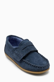 Suede Penny Loafers (Younger)