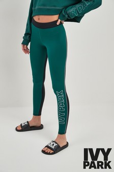 Ivy Park Green Colourblock Legging