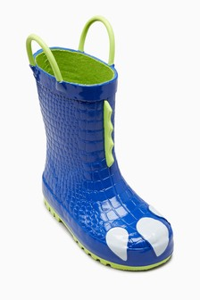 Dino Foot Wellies (Younger)